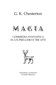 Magia commedia fantastica magic copertina